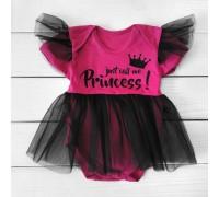Боді сукня з народження з фатином Princess