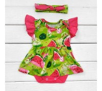 Боди-платье с коротким рукавом и повязкой Summer