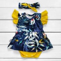 Боди-платье с повязочкой Dream