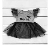 Дитячий боді з фатином Princess