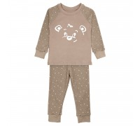 Детская пижама со светящимся рисунком Мишка