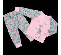 Дитяча піжама для дівчаток Коти