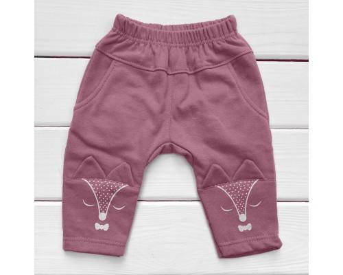 Дитячі штани Лисички футер (начос)