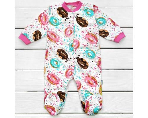 Человечек для ребенка от трех месяцев Пончики