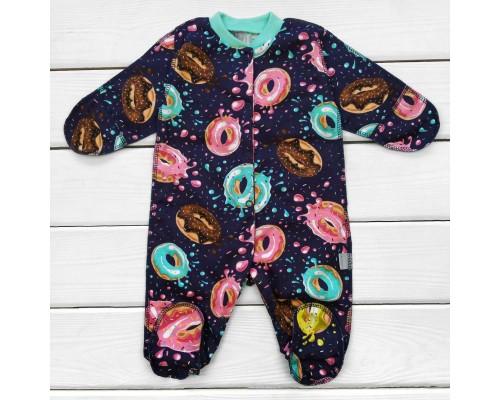 Человечек из легкой ткани Пончик