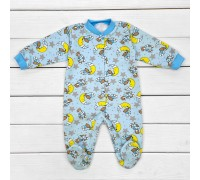 Футерний чоловічок для дітей від трьох місяців Медведики блакитного кольору