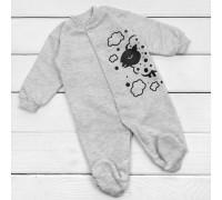 Сірий чоловічок для малюків з принтом овечка