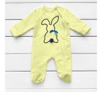 Чоловічок для малюків Зайчик жовтого кольору