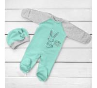 Комплект з чоловічком Little Bunny Mint