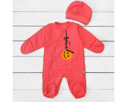 Набор для малышей человечек с шапочкой Smile