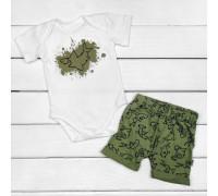 Комплект Акулка боди и шорты