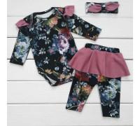 Детский нарядный комплект Romantic из трех предметов