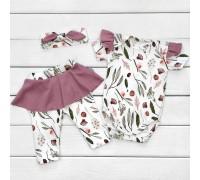 Комплект для новонародженої дівчинки Botanic