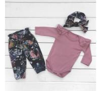 Стильный комплект для девочки из трех предметов Lily