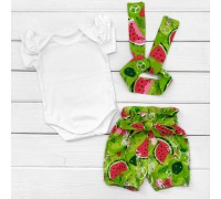 Боди шорты и повязка Watermelon