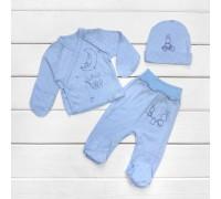 Комплект новонародженого з тканини з перфорацією