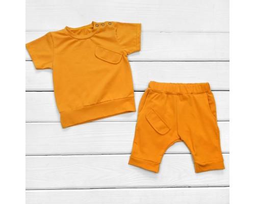 Комплект на лето футболка и шорты Orange