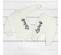 Молочный набор для ребенка от трех месяцев Енотики