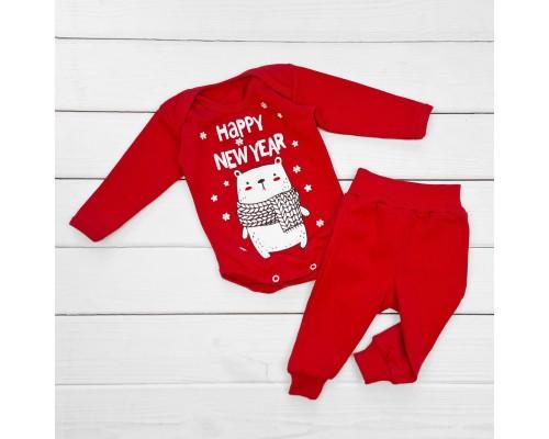 Детский Новогодний комплект для малышей Happy New Year