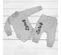 Набір для дитини боді та штани від трьох місяців Єнотики
