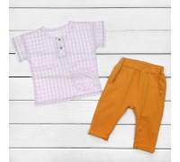 Костюм детский рубашка и штаны Nature