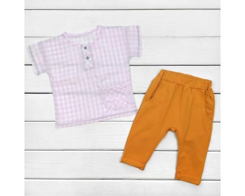 Костюм дитячий сорочка і штани Nature
