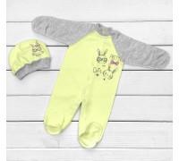 Комплект с человечком Little Bunny Yellow