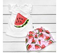 Комплект на літо для дівчинки Кавунчик