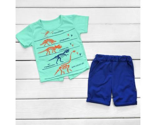 Дитячий комплект футболка і шорти Юрський період