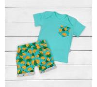 Комплект для мальчика футболка и шорты Banana