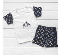 Комплект для хлопчика Dog футболка і шорти