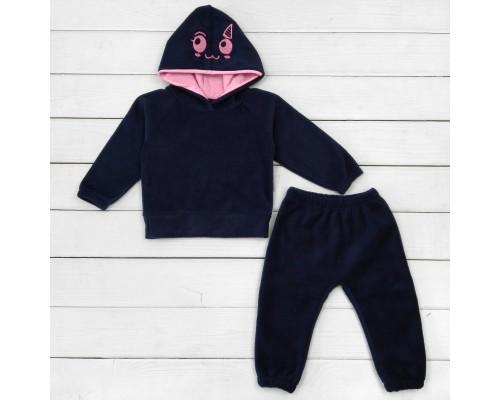 Флісовий дитячий костюм джемпер і штани Uni