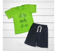 Комплект Велосипед футболка и шорты