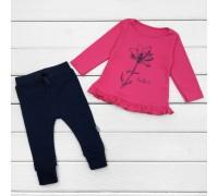 Джемпер дитячий малиновий зі штанами Dexters