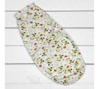 Евро-пеленка на липучке Собачки для новорожденных