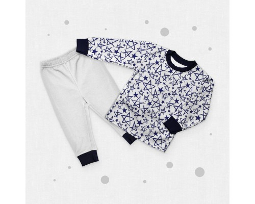 Детская пижама для мальчика Синяя звезда
