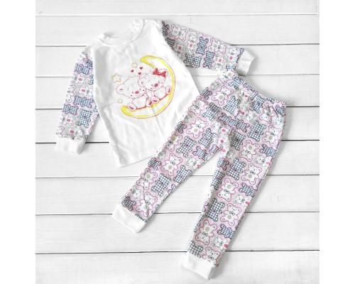 Пижама детская с начесом Night tales