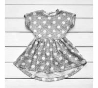 Платье летнее детское Горошек