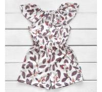 Платье-комбинезон для девочки Листочки