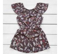 Плаття-комбінезон для дівчинки Листва