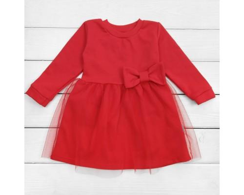 Червона сукня дитяча з фатином Lady