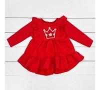Дитяча червона сукня-туніка Princess