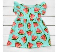 Сукня дитяча з яскравим принтом Арбузики