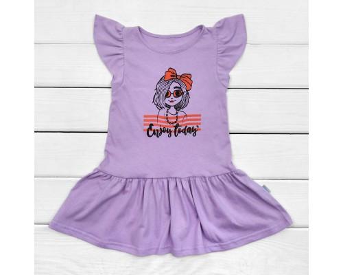 Сукня для дитини Enjoy today з коротким рукавом
