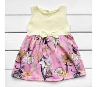 Дитяче плаття на літо Квіточка