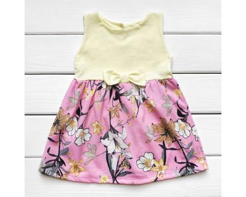 Детское платье на лето Цветочек