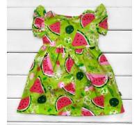 Платье летнее детское Сочный арбузик