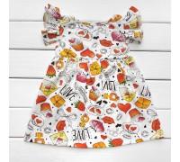 Детское летнее платье Конфетка