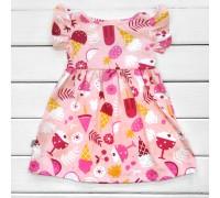 Платье Мороженко короткий рукав