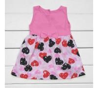 Сукня дитяча в сердечка